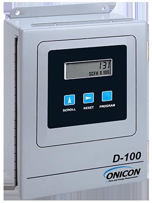 D-100 Flow Meter Display ONICON